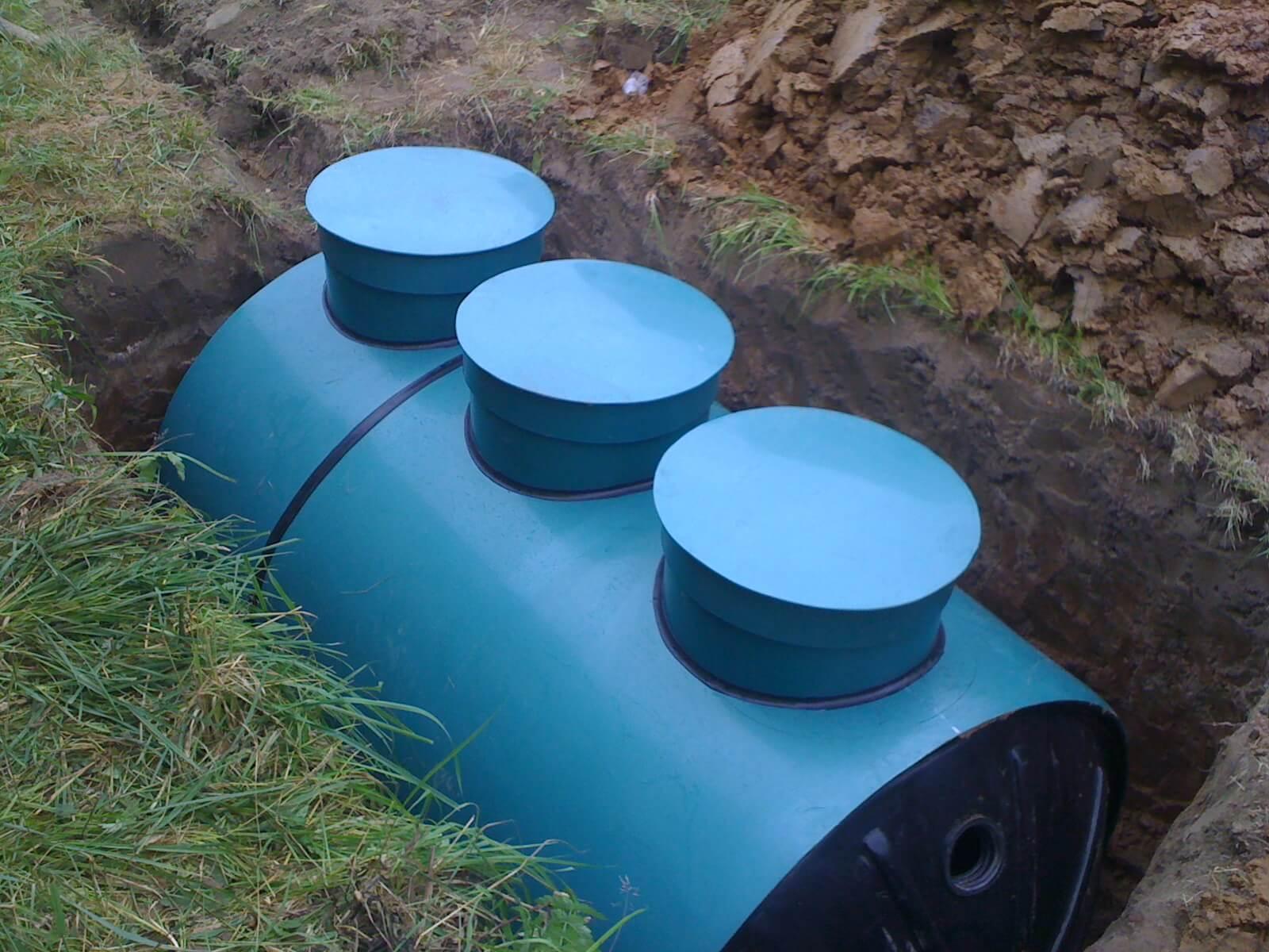 Обустройство автономной канализации в Никольском