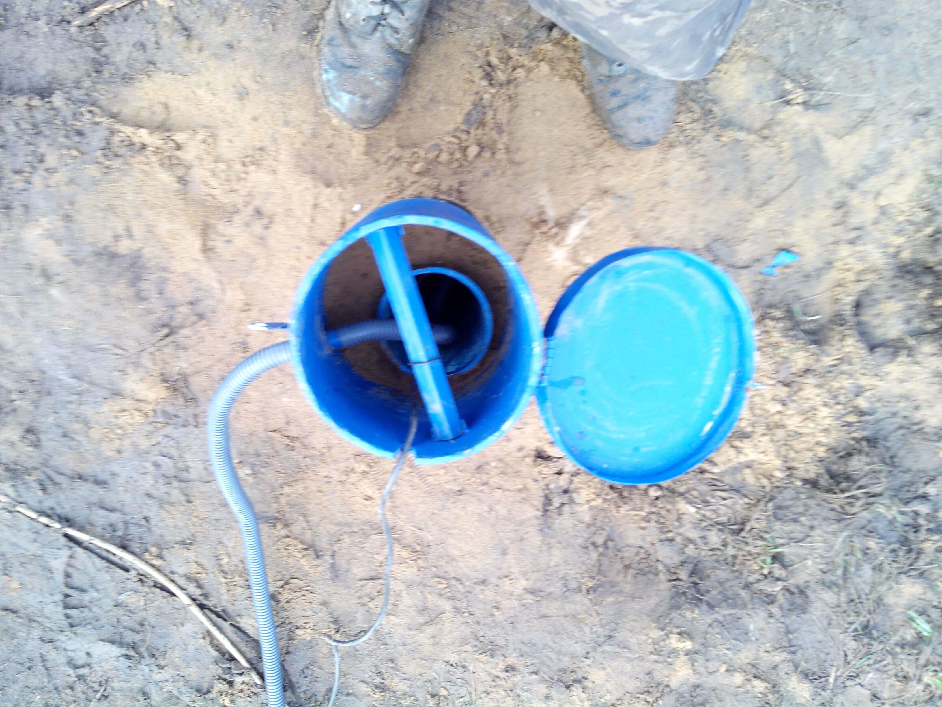 Обустройство автономного водоснабжения в Завидово