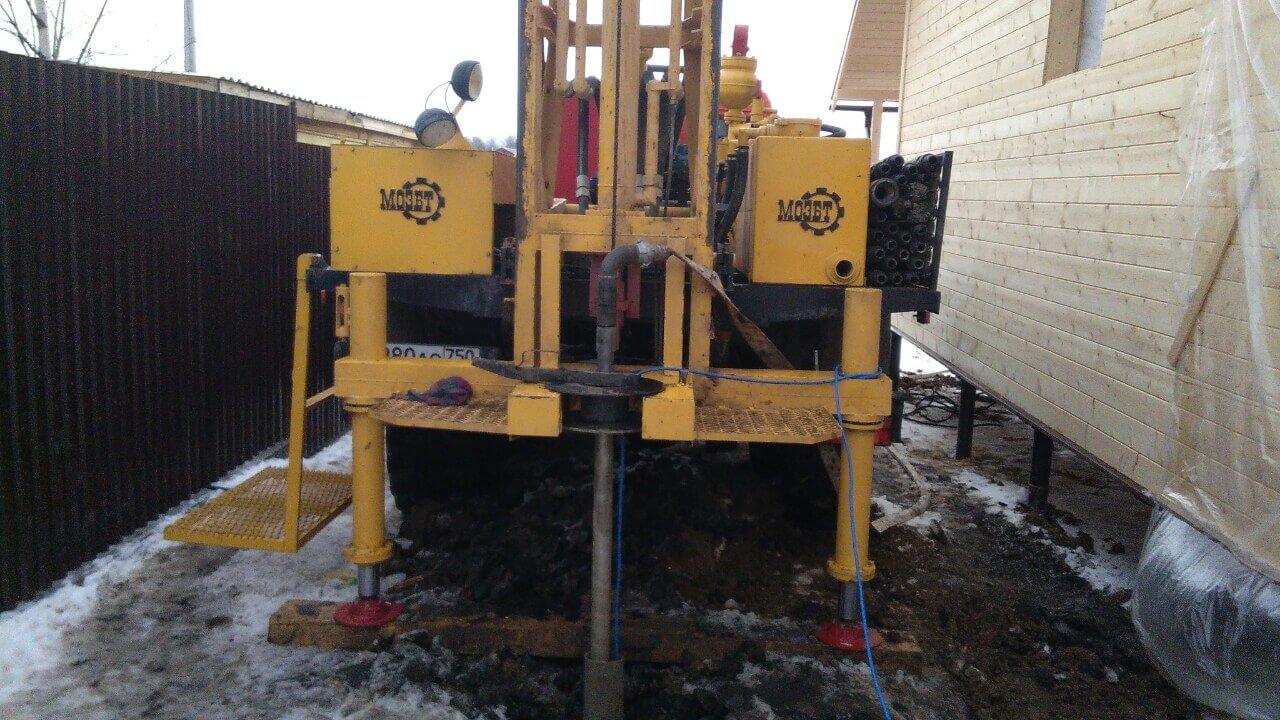 Обустройство скважины на воду в КП Великие Озера