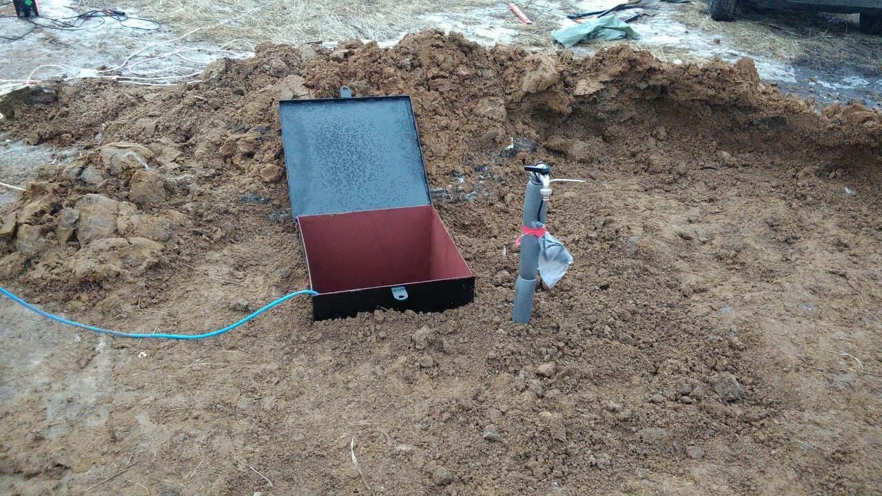 Обустройство скважины на воду в ДНП Марьино Роща