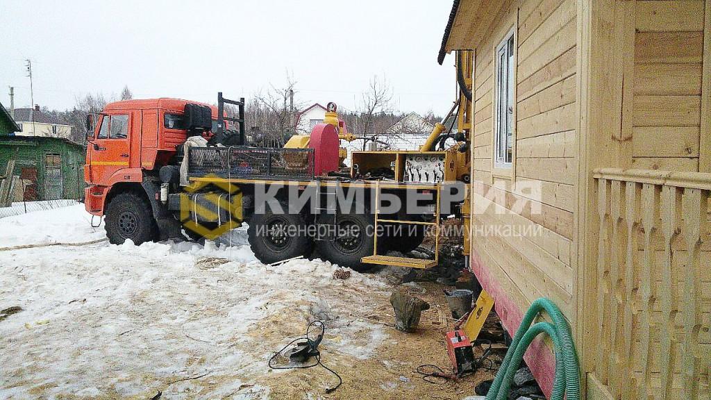 Бурение скважины на воду Раменский район, деревня Белоозериха глубина 75 м